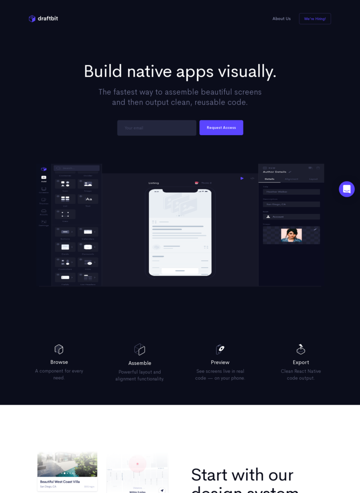 Draftbit - Build Native Apps Visually