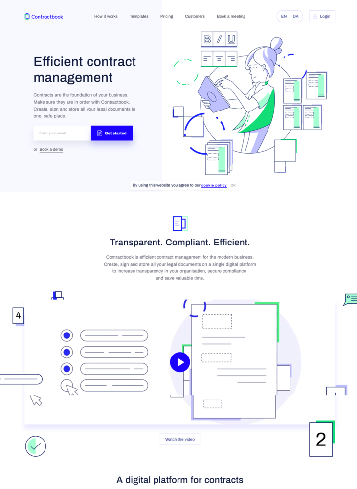 Contractbook: Efficient Contract Management