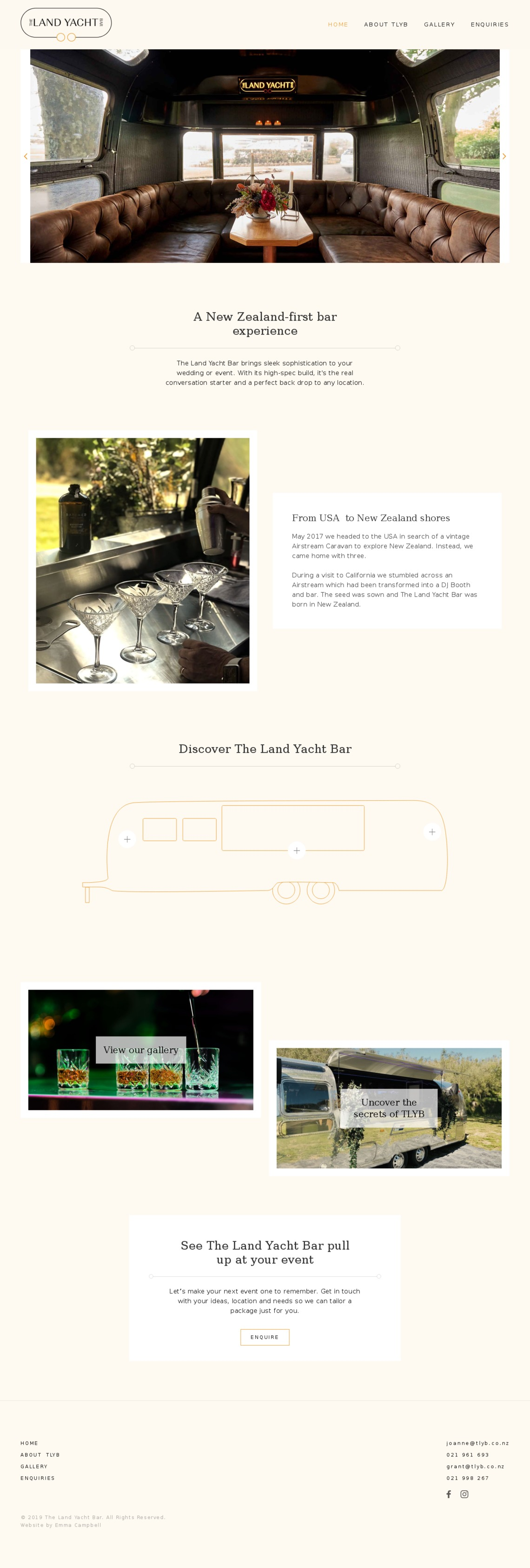 Home | The Land Yacht Bar