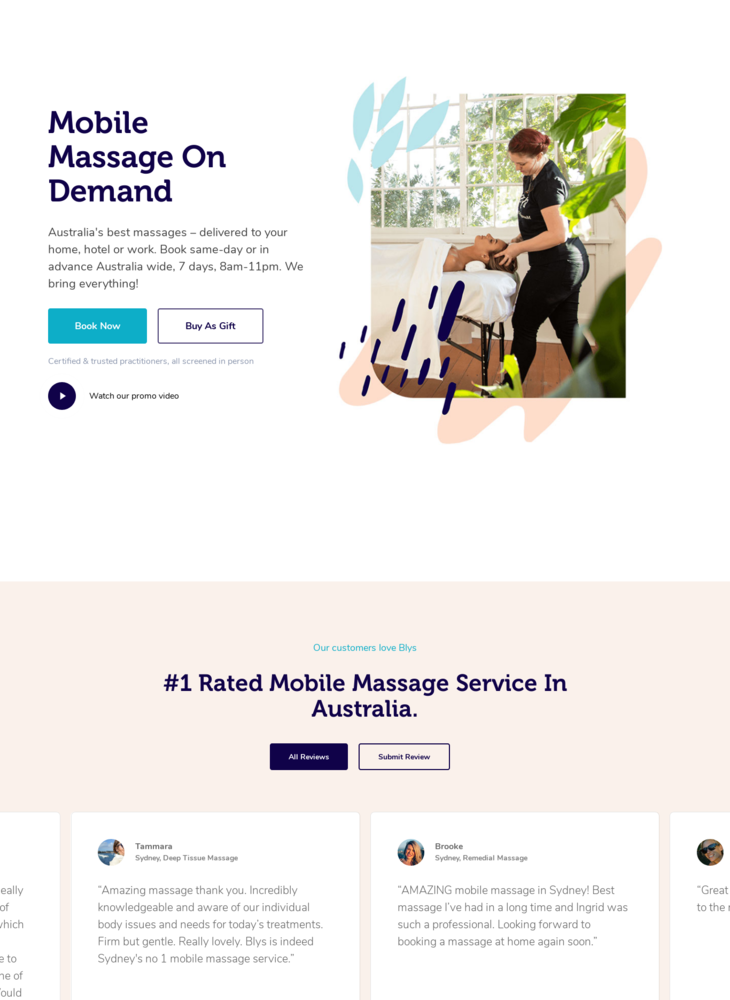 Mobile Massage Sydney - Home Massage Sydney | Blys