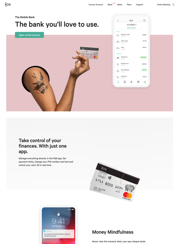 The Mobile Bank — N26 United Kingdom