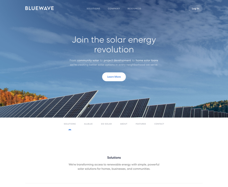 A Solar | Land-book - the finest hand-picked website inspirations