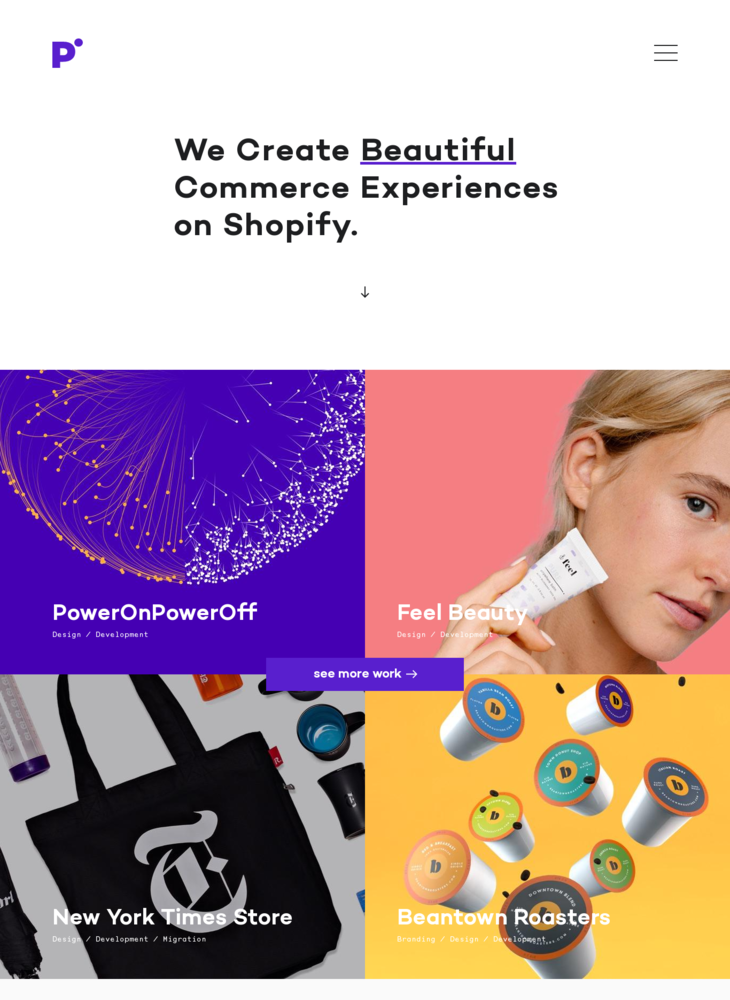 We Create Beautiful Commerce Experiences on Shopify – Pointer Creative