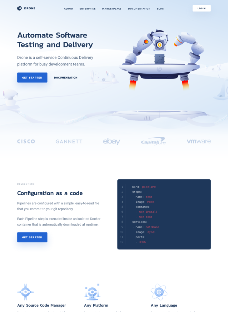 Drone CI – Automate Software Testing and Delivery