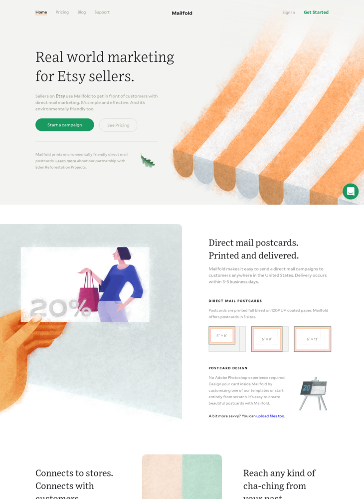 Mailfold - Direct Mail for Sellers on Etsy
