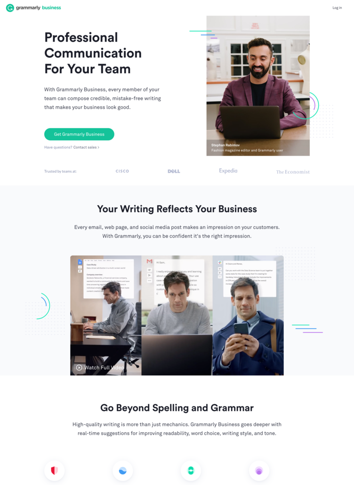 Grammarly Business - Polish Your Team's Communication