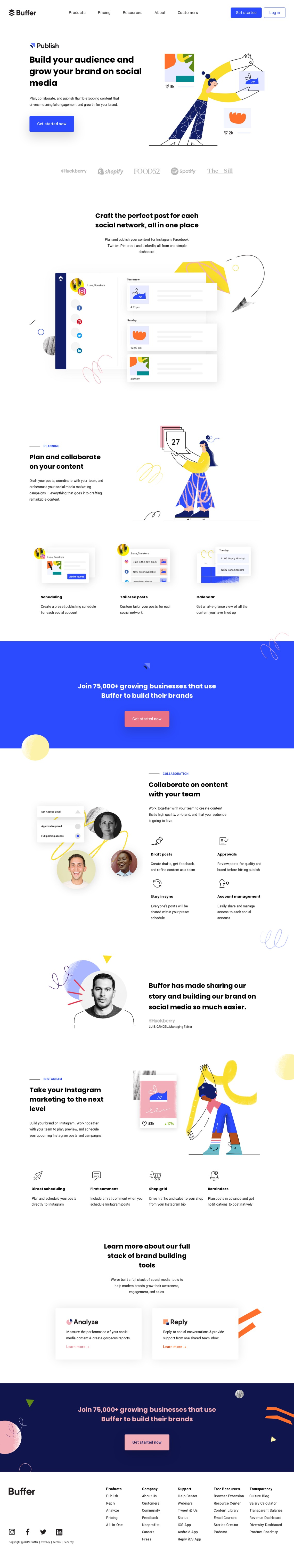 Buffer | Social Media Management Software for Growing Brands