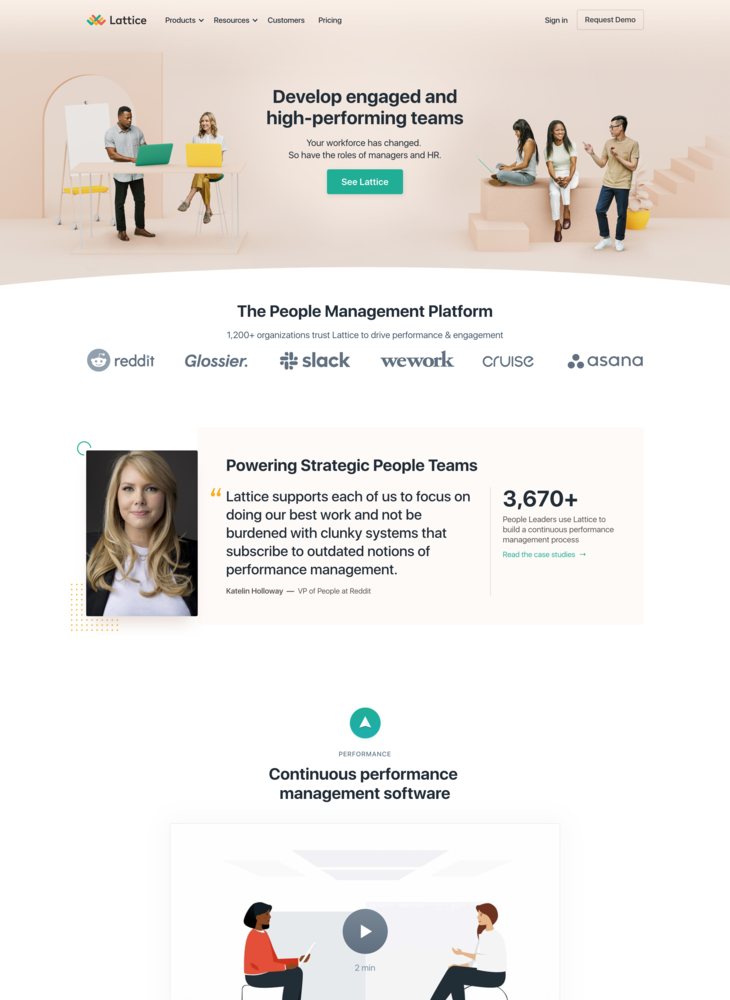 People Management | Performance and Engagement Software | Lattice