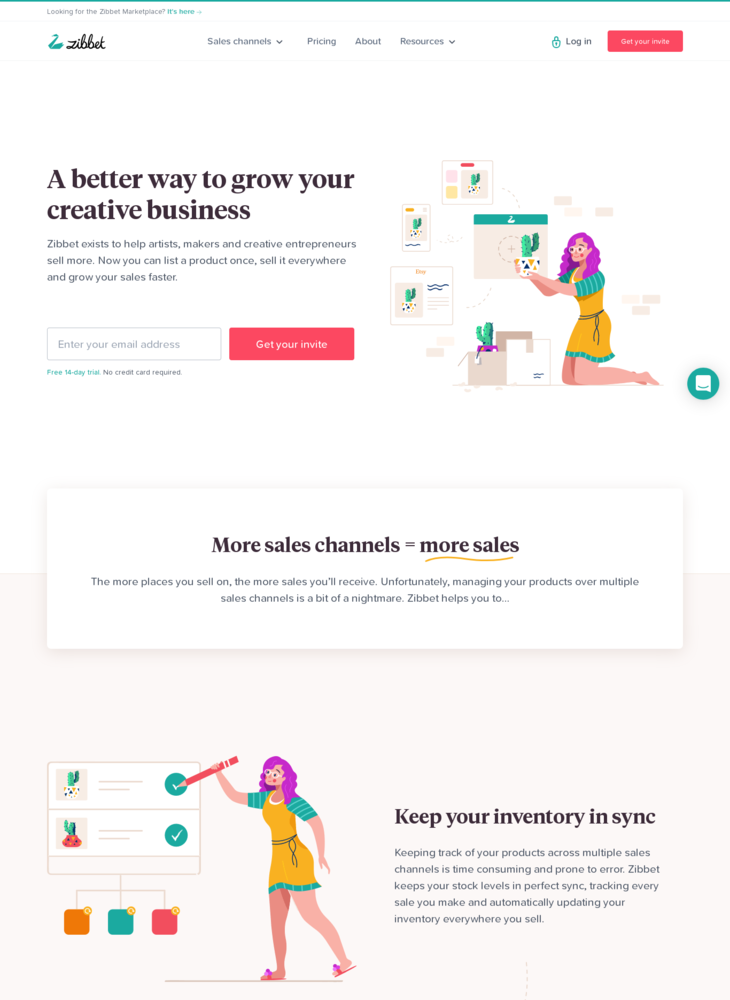 Zibbet – A Better Way to Manage & Grow Your Creative Business
