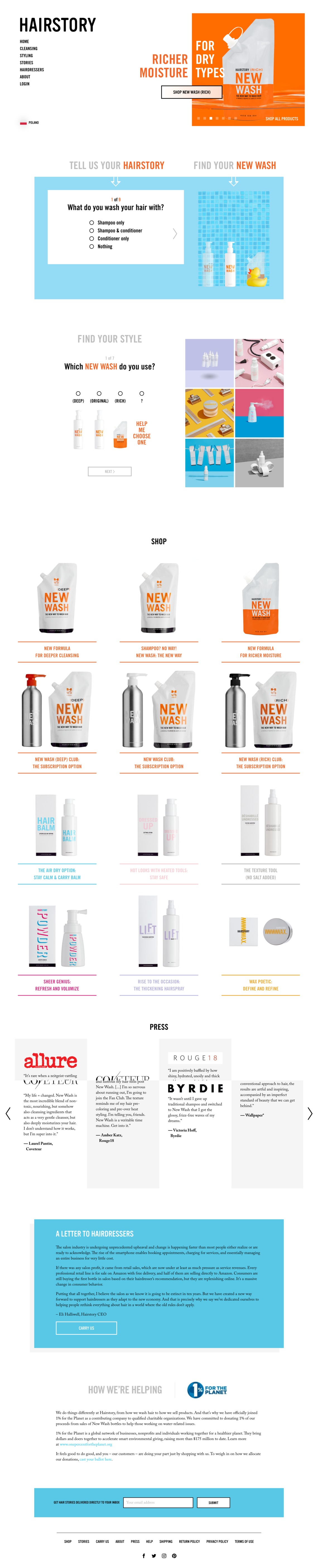 Hairstory™ | Discover the New Way to Wash Hair
