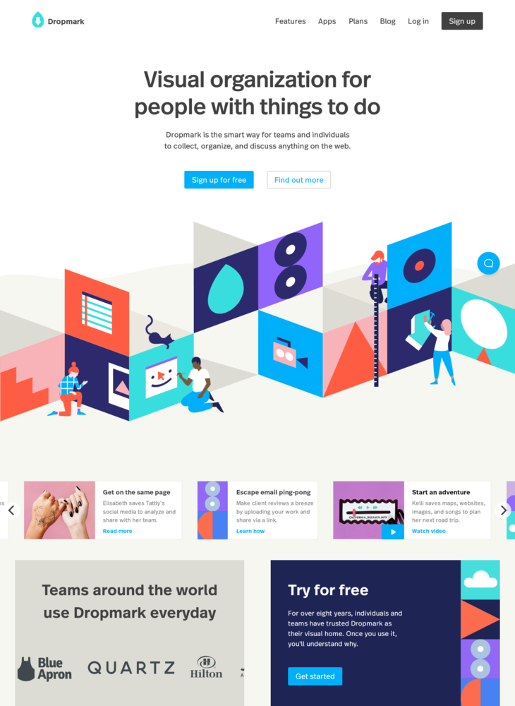 Dropmark - Organize, collaborate, curate, and share online