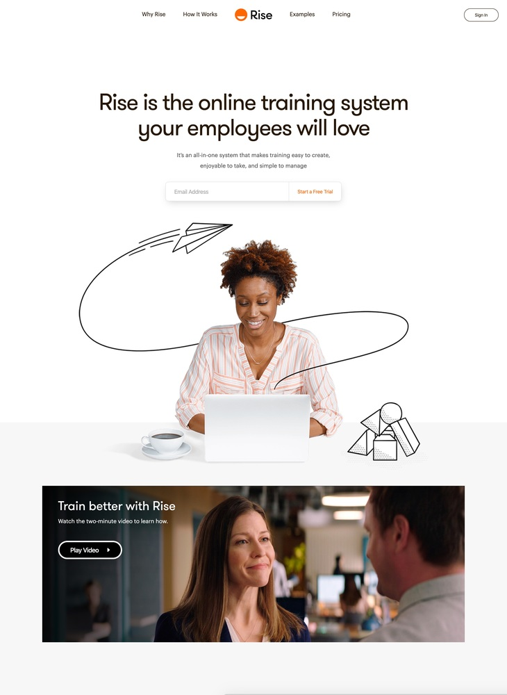 The Online Training System Your Employees Will Love | Rise