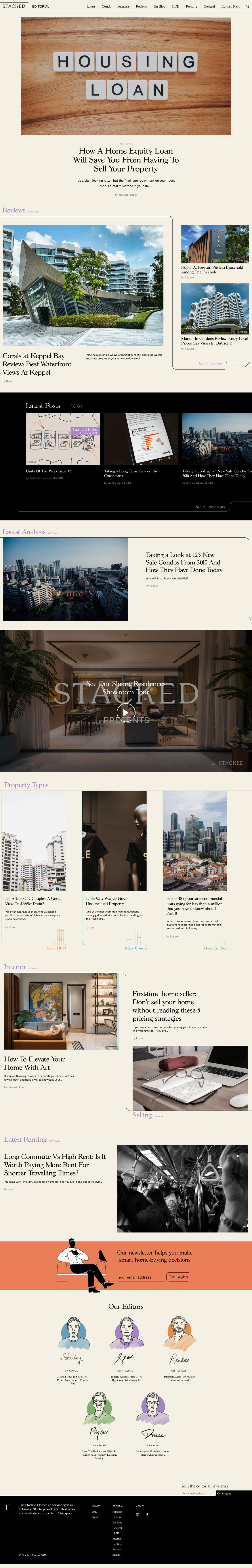 Property Blog Singapore: Tips and tricks for renters, buyers and sellers - Official Stacked Homes Blog