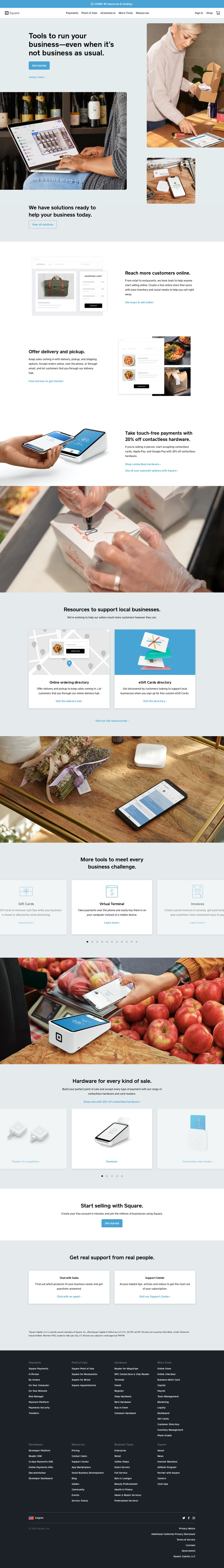Square: Solutions & Tools to Grow Your Business