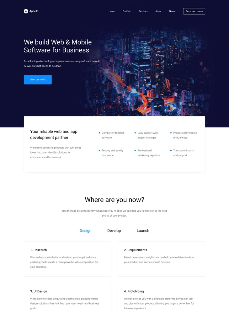 Appello – Leading Software Developers