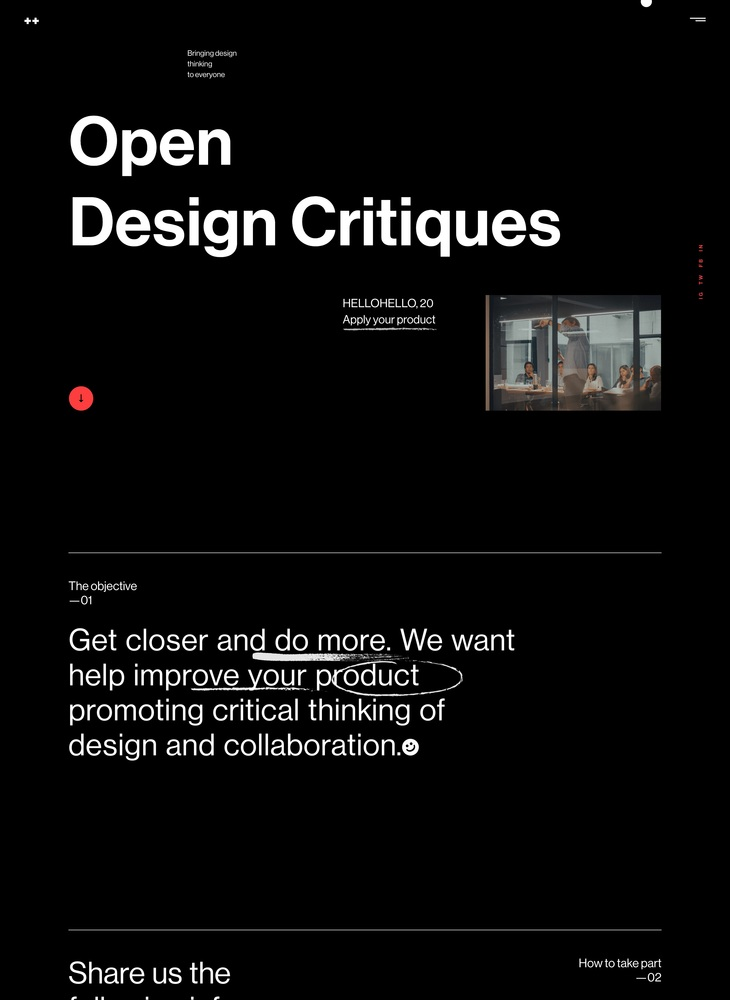 ++ hellohello — Open Design Critiques
