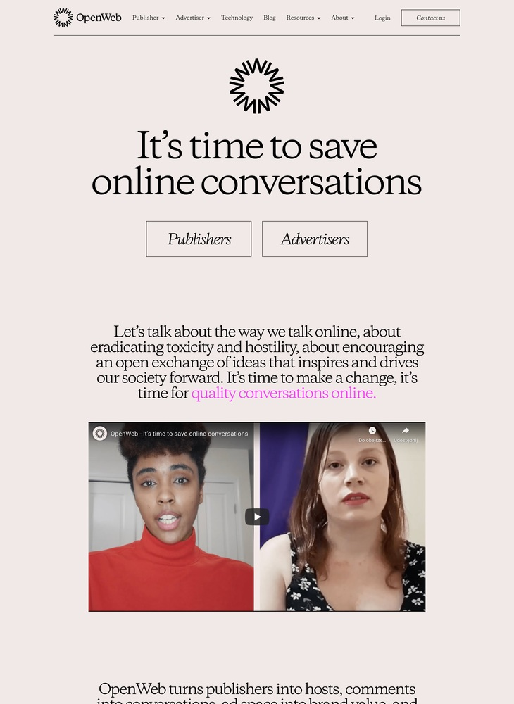 It's time to save online conversations | OpenWeb