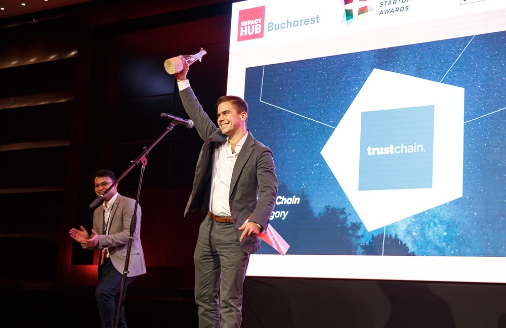 TrustChain is the best newcomer startup of the CEE region