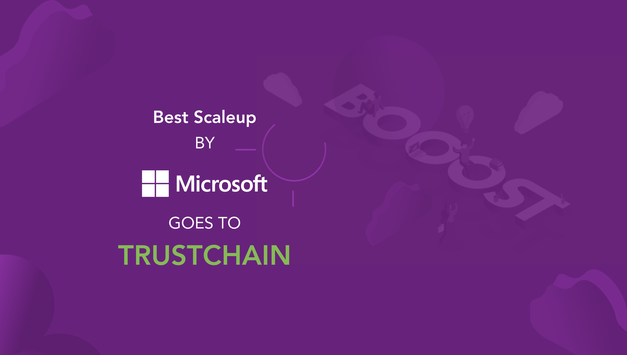 TrustChain won another award, this time from Microsoft
