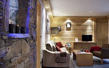 Chatel · Komfort-Ferienwohnungen · Les Chalets d'Angele - Wohnzimmer