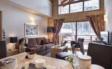 Samoens · Ferienwohnungen · Les Chalets de Layssia - Wohnzimmer