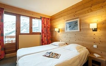 Unterkünfte • Ferienwohnung Aconit • Les Menuires - Les 3 Vallees / Trois Vallees •  Etagenbett