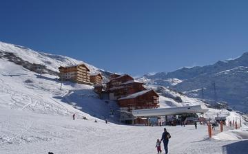 Skiurlaub direkt an der Piste ∙ Ihre Residenz Les Chalets de l'Adonis in Les Menuires, im Skigebiet Les 3 Vallees (Trois Vallees), Frankreich - französische Alpen
