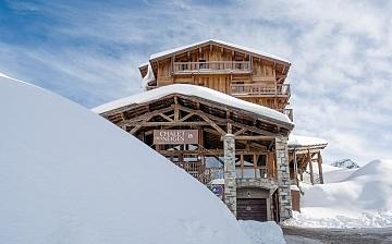 Chalet Hermine Ferienwohnungen in Val Thorens - Aussenansicht/Panorama