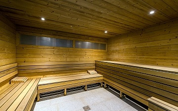 Residenz Chalet Val 2400 in Val Thorens - Sauna