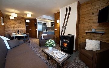 Ferienwohnung in der Residenz Chalet Val 2400 in Val Thorens - Frankreich