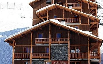 Ferienwohnungen in Val Thorens - Plein Sud - Aussenansicht