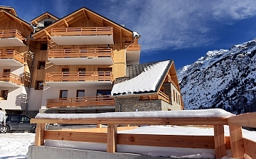Alpe d'Huez ∙ Ferienwohnungen Le Crystal Blanc ∙ Vaujany (1250 m)