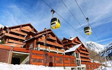 Alpe d'Huez ∙ Ferienwohnungen La Cascade – Les Epinettes ∙ Vaujany (1250 m)