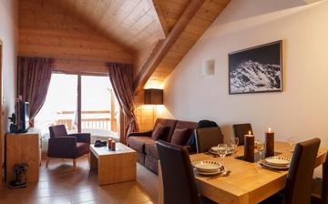 Montgenèvre · Ferienwohnungen · Le Napoleon - Wohnzimmer