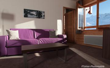 Chalet mont vallon suite salon