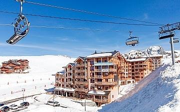 Front de Neige ∙ Ferienwohnungen in La Plagne Village (2050 m) ∙ Skigebiet Paradiski - La Plagne ∙ Frankreich