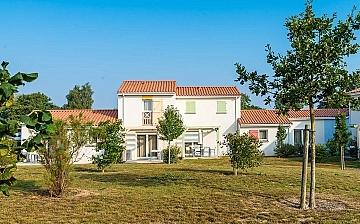 Ferienhaus der Residenz Le Village de la Mer · Talmont-Saint-Hilaire / Les Sables d'Olonne, Atlantik, Frankeich.