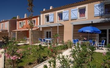 Ferienhäuser in Südfrankreich, Camargue, Aigues-Mortes. Die Residenz Les Mas des Flamants.