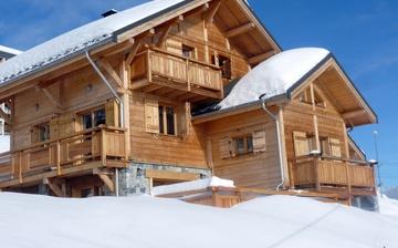 Chalet Le Jardin d'Hiver · Ihr Chalet in La Toussuire / Skigebiet Les Sybelles · Chalet Aussenansicht