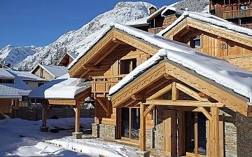 Chalet Prestige Lodge in Les 2 Alpes / Deux Alpes · Aussenansicht