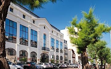 Biarritz · Ferienwohnungen · Les Patios Eugenie - Residenz, Aussenansicht