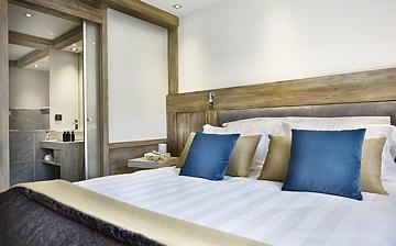Les Chalets Elena ***** - Komfort-Ferienwohnungen in Les Houches - Schlafzimmer