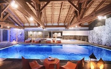Les Chalets Elena ***** - Komfort-Ferienwohnungen in Les Houches - Pool