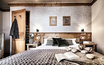Les Montagnettes Soleil 1, Schlafzimmer