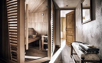 Les Montagnettes Soleil 1, Sauna