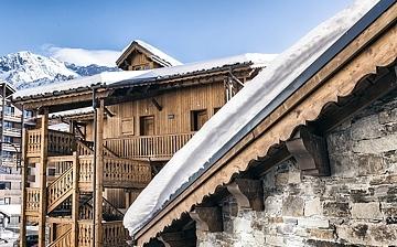Les Montagnettes Soleil, Unterkünfte in Val Thorens