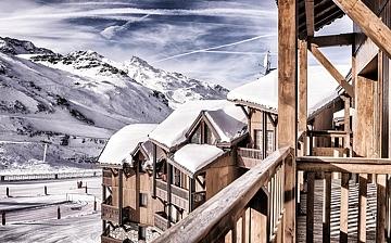 Les Montagnettes Soleil 2 in Val Thorens, Trois Vallees, Frankreich. Residenz