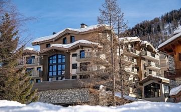 Chalet Izia in Val d'Isere - Ferienwohnungen. Aussenansicht