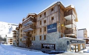 Neige et Soleil, Ferienwohnungen in Les 2 Alpes / Deux Alpes - Residenz, Aussenansicht