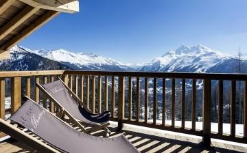 Panorama · Unterkünfte La Rosière · Ferienwohnungen Le Hameau de Barthelemy in La Rosière, Skigebiet Espace San Bernardo. Skiurlaub in Frankreich. Skifahren in den französischen Alpen.
